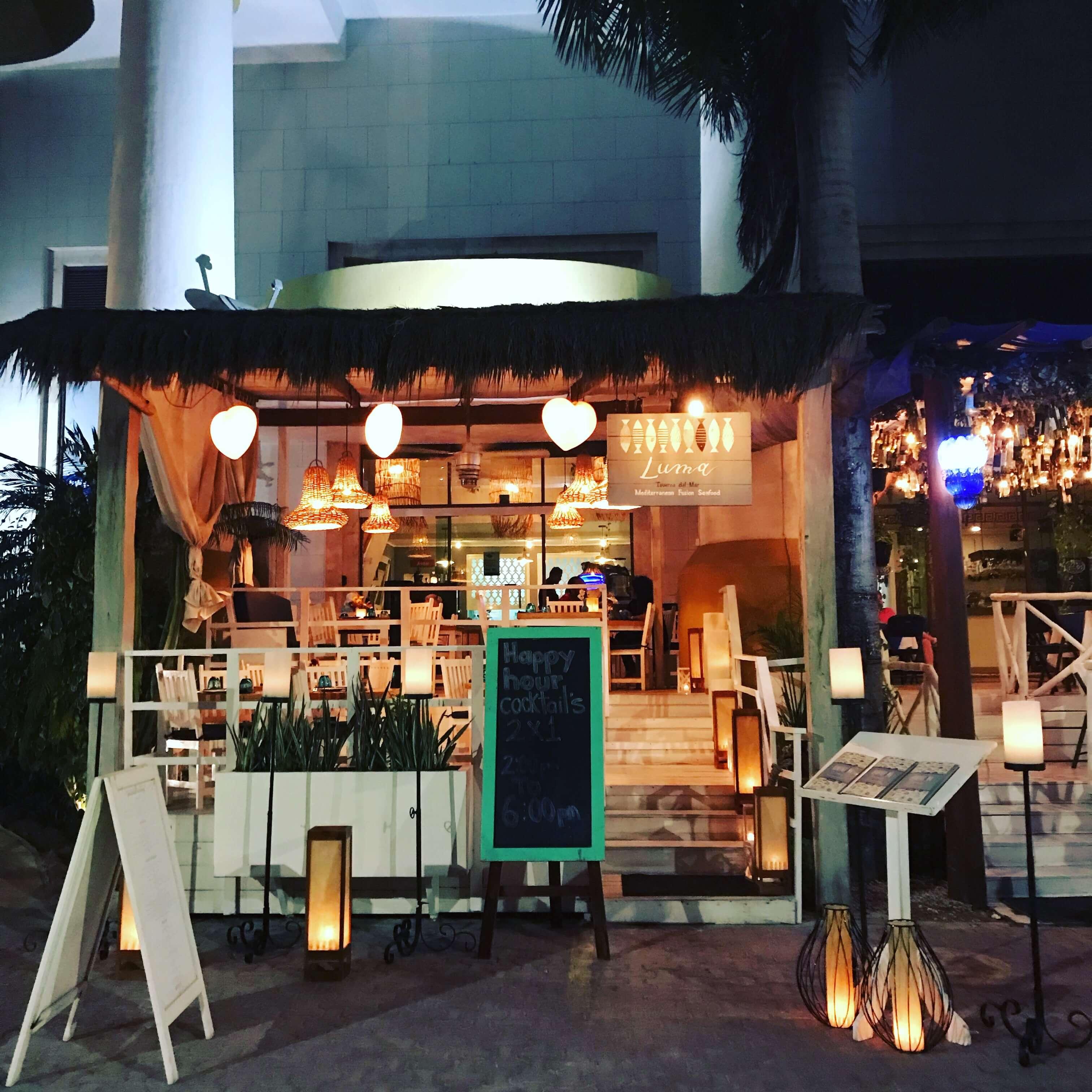 Italian Restaurant Riviera Maya Seafood Fusion Mediterranean
